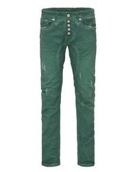 grüne enge Jeans von BLUE MONKEY
