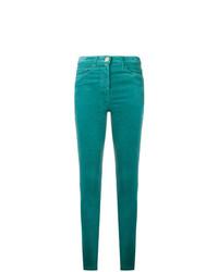 grüne enge Jeans von Elisabetta Franchi