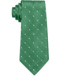 Grüne gepunktete Krawatte von Lauren Ralph Lauren