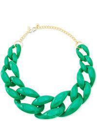 grüne Halskette