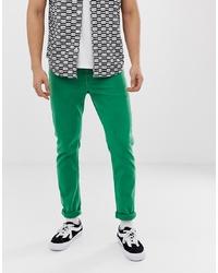 grüne Jeans von ASOS DESIGN