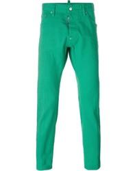 grüne Jeans von DSQUARED2
