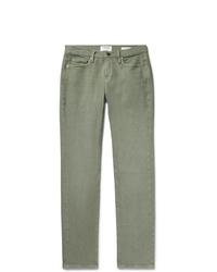 grüne Jeans von Frame