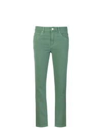 grüne Jeans von Isabel Marant Etoile
