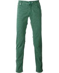 grüne Jeans von Jacob Cohen