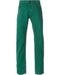 grüne Jeans von Kenzo