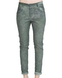 grüne Jeans von VESTINO