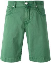 grüne Jeansshorts von Jacob Cohen