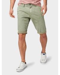 grüne Jeansshorts von Tom Tailor