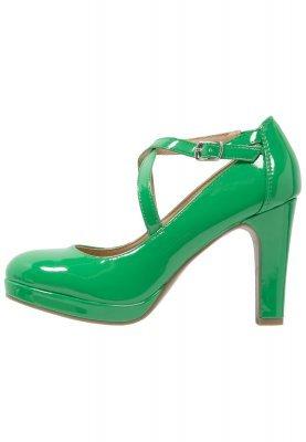 grüne Leder Pumps von Anna Field