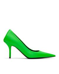 grüne Leder Pumps von Balenciaga