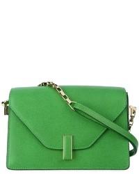 grüne Leder Umhängetasche von Valextra