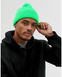 grüne Mütze von ASOS DESIGN