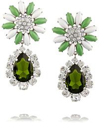 grüne Ohrringe von Miu Miu