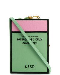 grüne Segeltuch Clutch von Olympia Le-Tan