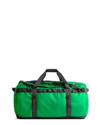 grüne Segeltuch Reisetasche