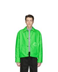 grüne Shirtjacke aus Nylon von Givenchy