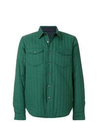 grüne Shirtjacke