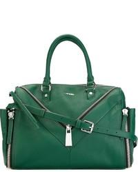grüne Shopper Tasche aus Leder von Diesel