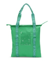 grüne Shopper Tasche aus Leder von George Gina & Lucy