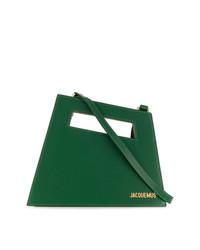 grüne Shopper Tasche aus Leder von Jacquemus