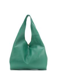 grüne Shopper Tasche aus Leder von Maison Margiela