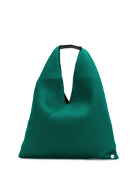 grüne Shopper Tasche aus Leder von MM6 MAISON MARGIELA