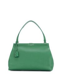 grüne Shopper Tasche aus Leder von Myriam Schaefer