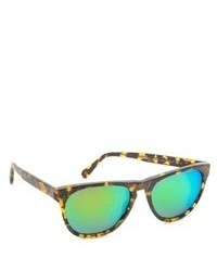 grüne Sonnenbrille