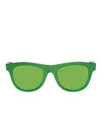 grüne Sonnenbrille von Bottega Veneta