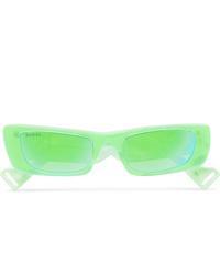 grüne Sonnenbrille von Gucci