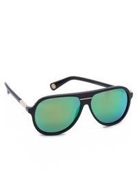 grüne Sonnenbrille von Marc Jacobs