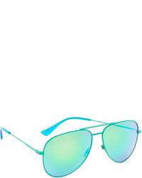 grüne Sonnenbrille von Saint Laurent