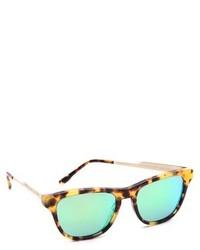 grüne Sonnenbrille von Stella McCartney