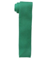 grüne Strick Krawatte