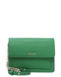 grüne Umhängetasche von DKNY