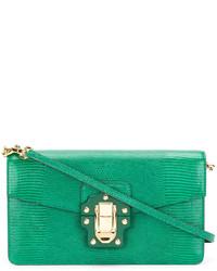 grüne Umhängetasche von Dolce & Gabbana