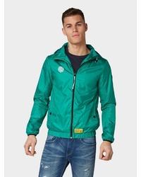 grüne Windjacke von Tom Tailor