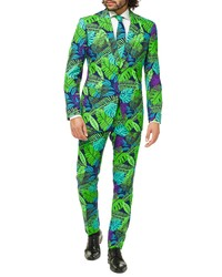 grüner Anzug