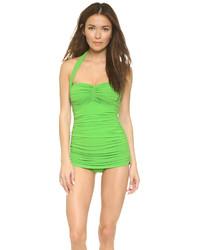 grüner Badeanzug von Norma Kamali