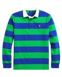 grüner horizontal gestreifter Polo Pullover von Polo Ralph Lauren