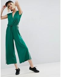 grüner Jumpsuit von Asos