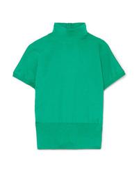 grüner Kurzarmpullover von Dolce & Gabbana