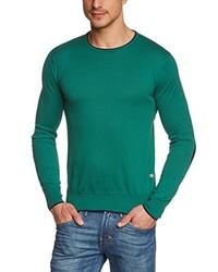 grüner Pullover mit einem Rundhalsausschnitt von CMP