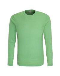 grüner Pullover mit einem Rundhalsausschnitt von Jacques Britt