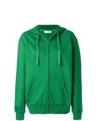 grüner Pullover mit einer Kapuze von Valentino