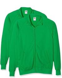 grüner Pullover von Fruit of the Loom