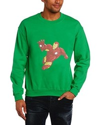 grüner Pullover von Marvel