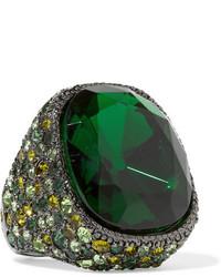 grüner Ring von Kenneth Jay Lane