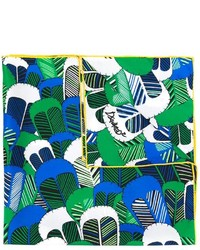 grüner Schal mit Blumenmuster von Dsquared2